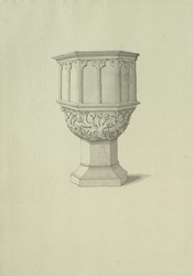 St Mary's, Redcliff, font